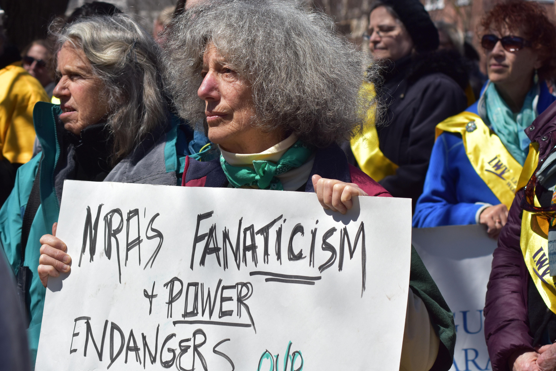 NRA 2018 protest Glens Falls, NY