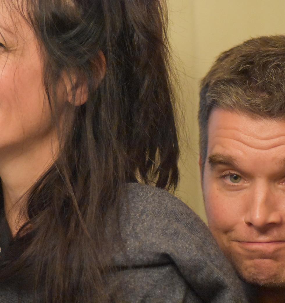 Rebecca and John