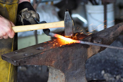 Forging the weld