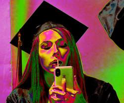 psychedelic graduation