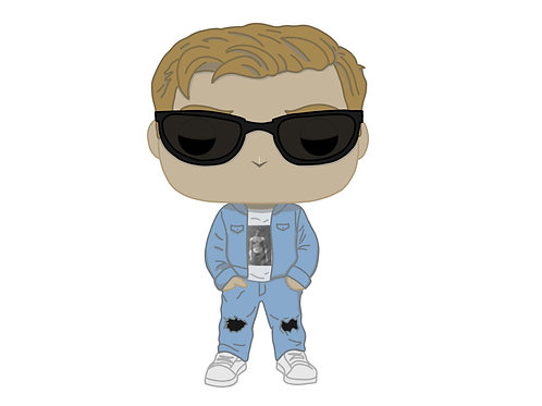 Orange Cassidy AEW Custom Pop