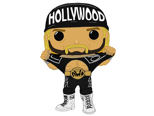 Hollywood Hogan Custom Pop