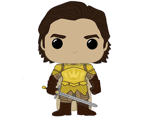 Ser Podrick Payne Custom Pop
