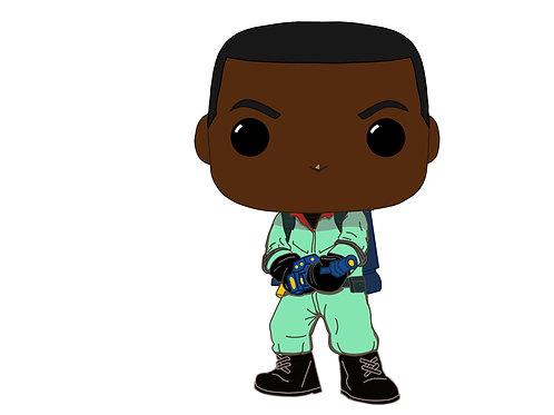 Winston Zeddemore Real Ghostbuster Custom Pop