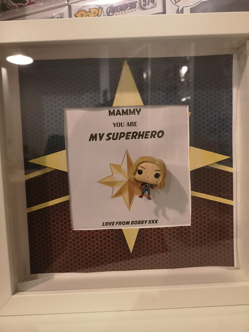 Personalised POP! Frame Superhero