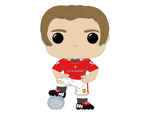 David Beckham Custom Pop