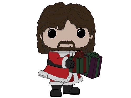 Santa Foley Custom Pop