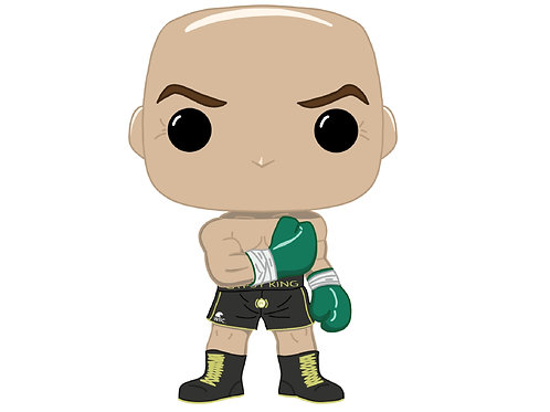 Tyson Fury Custom Pop
