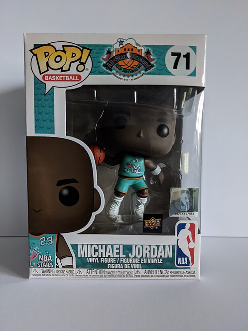 Michael Jordan All star Upper Deck Exclusive
