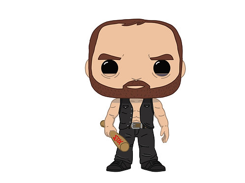 Jon Moxley AEW Custom Pop