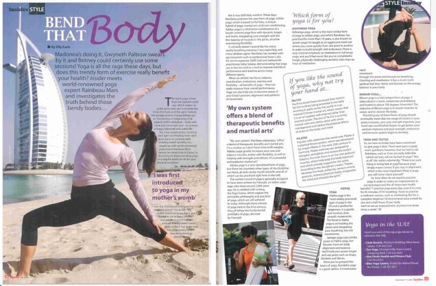 Insider Magazine Dubai
