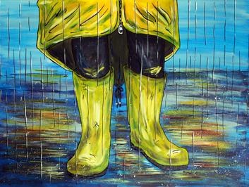 Regenspritzer