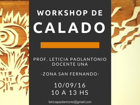 Workshop de Calado en San Fernando