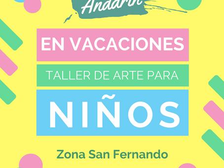 Verano 2017. Jornadas para jugar, imaginar y crear en San Fernando.