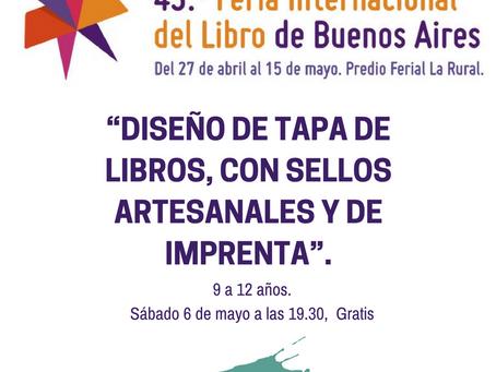 Arte Andarín en la Feria Internacional del Libro en Buenos Aires
