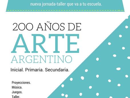 200 años de Arte Argentino.
