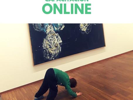 """Ya está disponible nuestra capacitación online """"Las obras de arte como punto de partida para pe"""