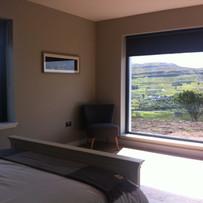 Picture Window in Bedroom