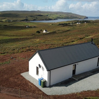 Aerial photo of The Byre