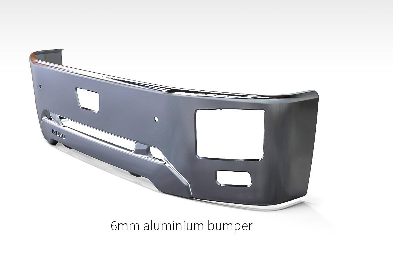 Aluminium Bumper Prototype