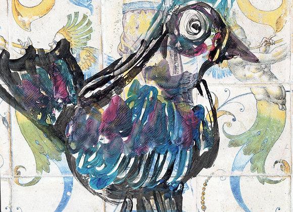 Oiseau azzulejos