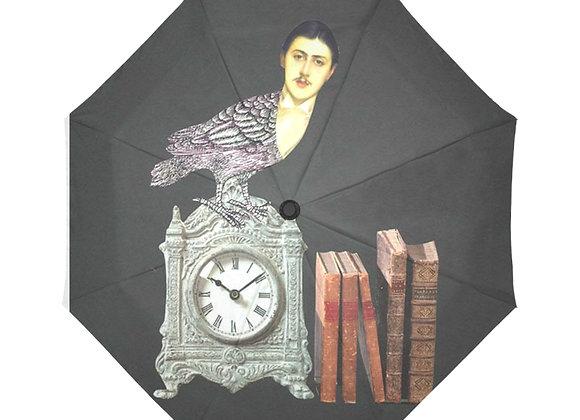 Parapluie Un chercheur