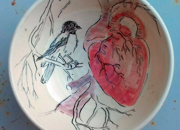 Le coeur et l'oiseau