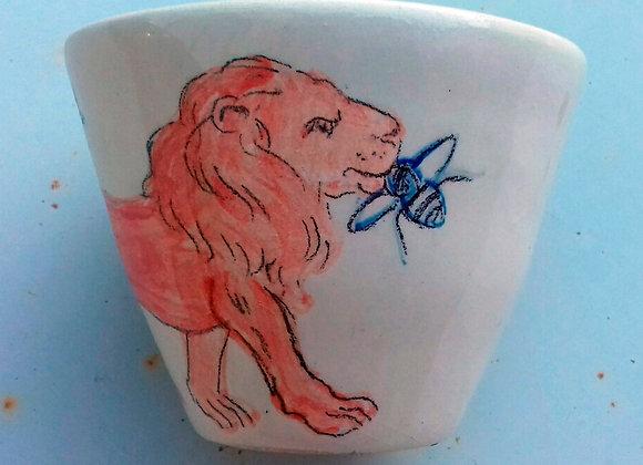 Gobelet Lion