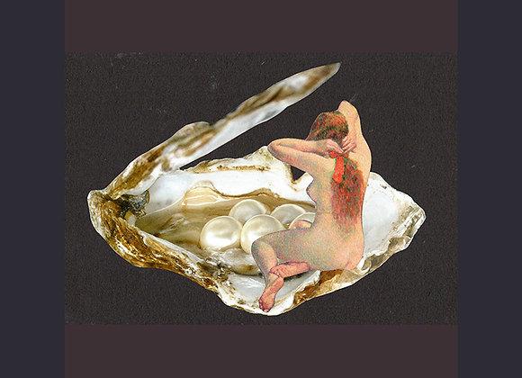Print La belle dans la perle