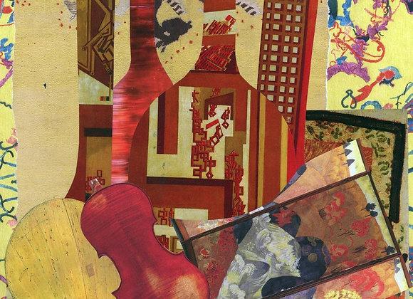 Le violon et le paravent