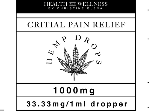 1000mg Hemp Drops
