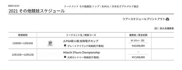 トーナメント-その他競技-トップ JLPGA 日本女子プロゴルフ協会.jp