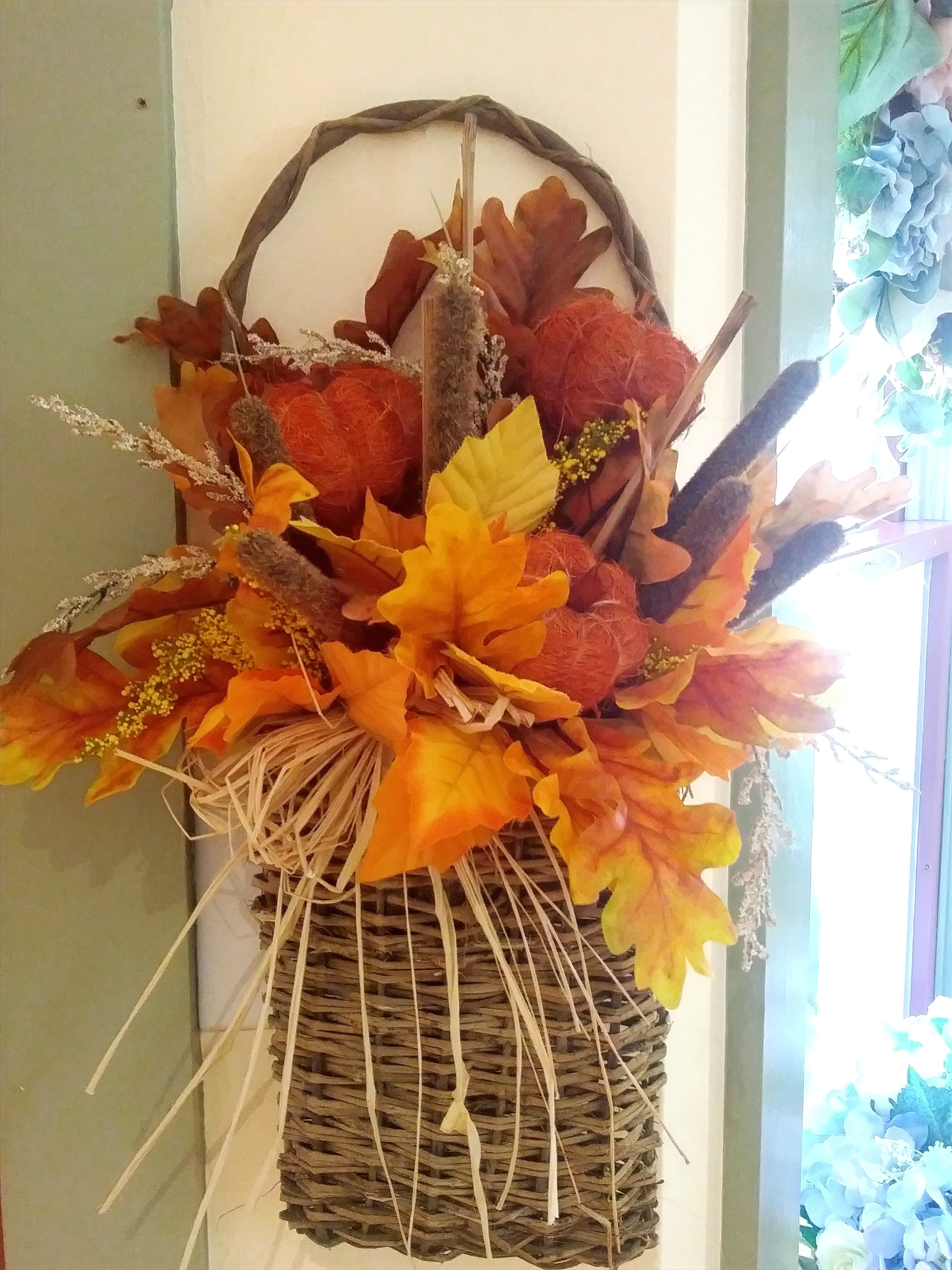 Fall Wall Basket