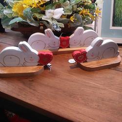 Bunny shelf sitters from D & D Designsjp