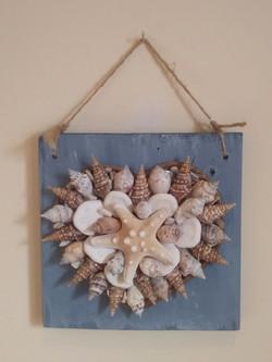 Shell Wall Heart