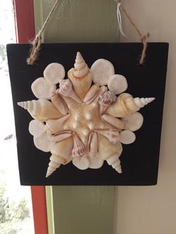 shell hanging - black