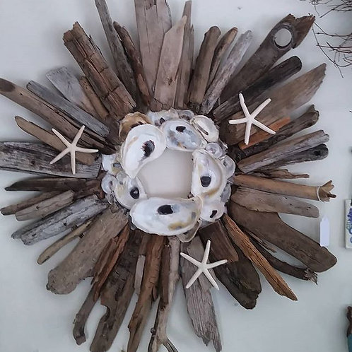 Driftwood/Oyster Wreah