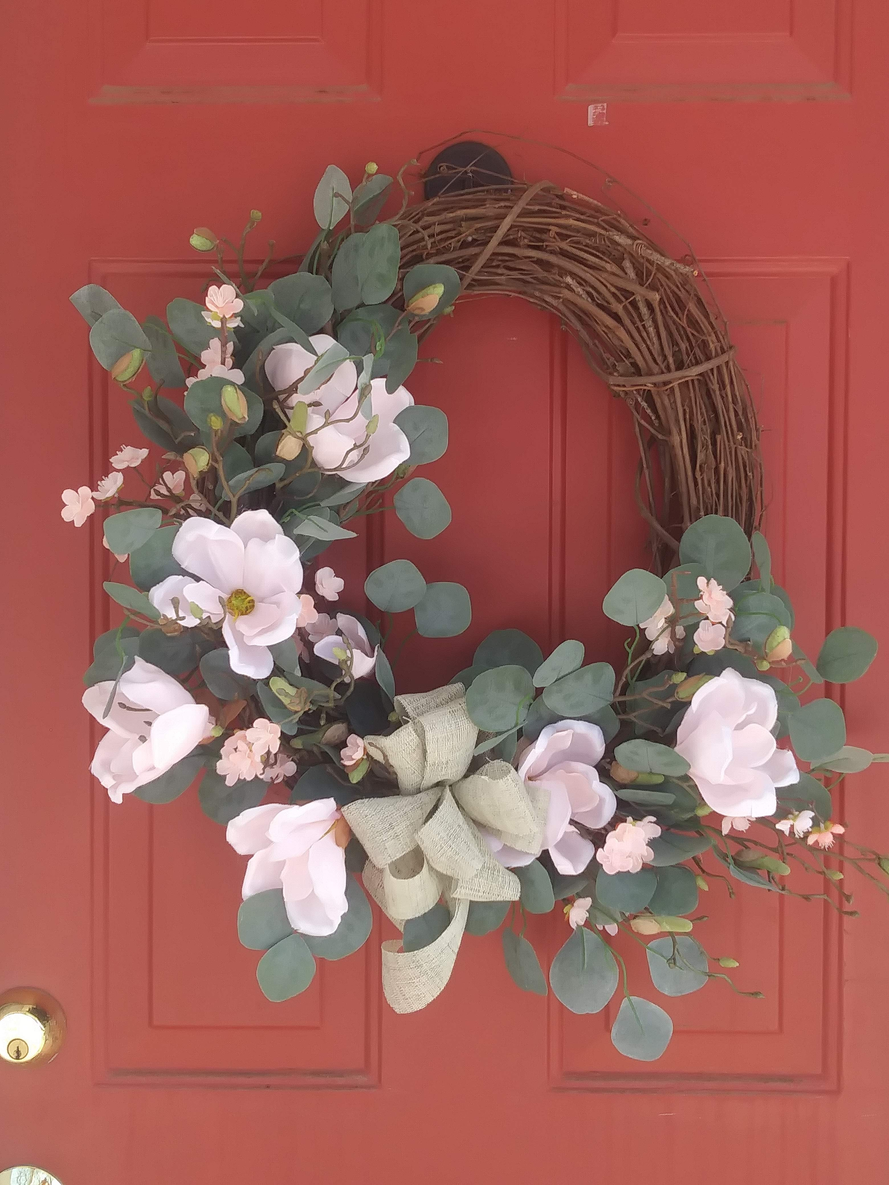 Northern Magnolia Wreath