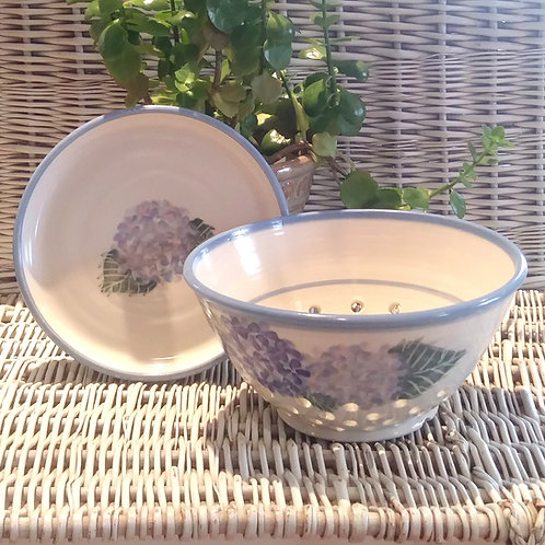 Berry Bowl Set / Hydrangeas