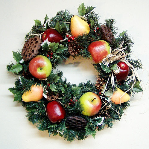 Wreath - Christmas Fruit