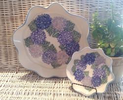Ruffled bowls_hydrangeas