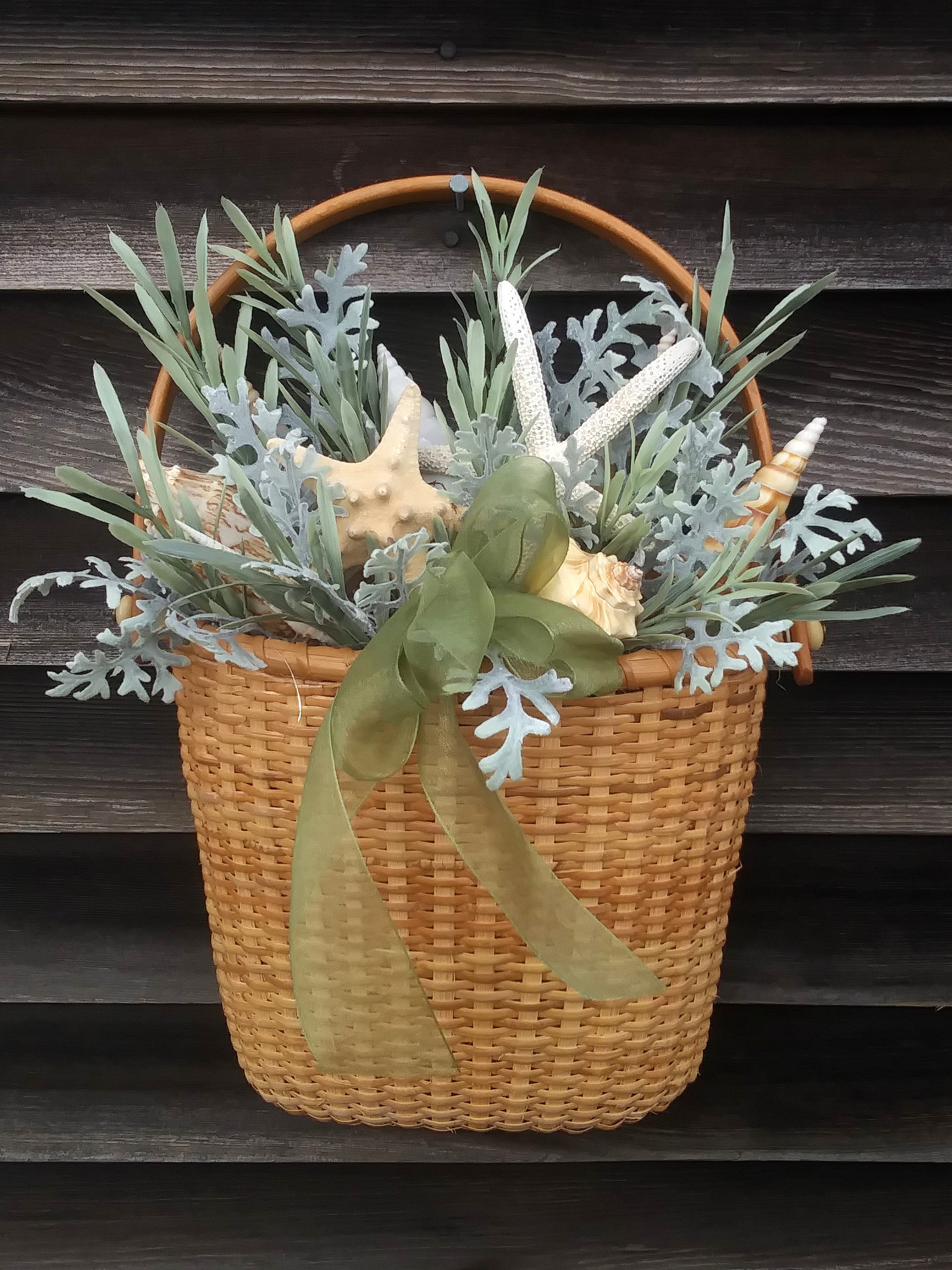 Nantucket Wall Basket