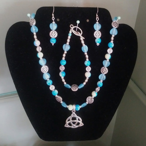 Celtic Knot Jewelry Set