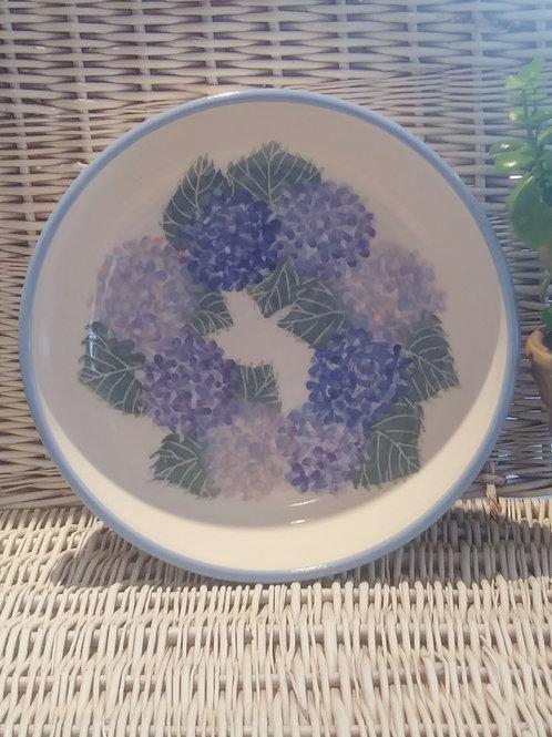 Pasta/Salad Bowl - Hydrangeas