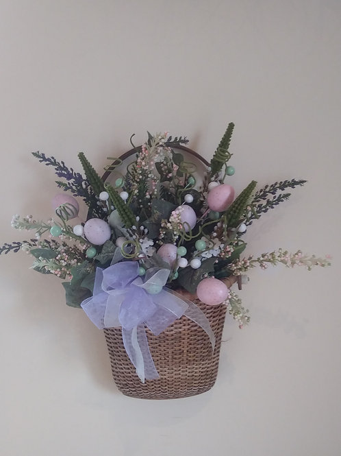Easter Wall Basket