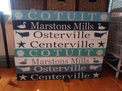 Town Signs - signs by CC