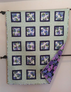 Hydrangea quilt