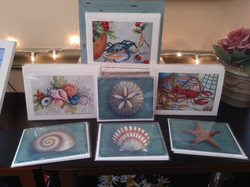 Note cards by Tole Sampler