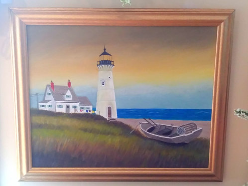 Lighthouse w/Keepers Cottage