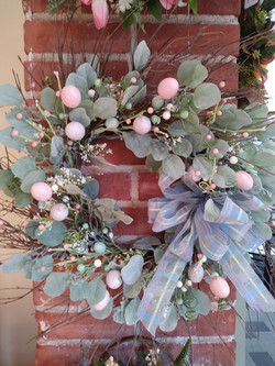 Easter Egg wreath from Coventry Crafts